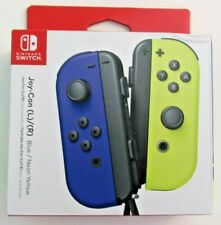 Joy-Con (L/R) Wireless Controllers for Nintendo Switch - Blue/Neon Yellow NEW