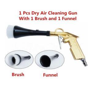 Universal Car Motorcycle Machine Dry Cleaning Gun Brush Clean Spray Tool Kit