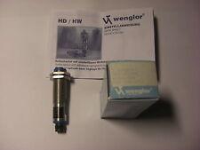 Wenglor Reflextaster / Optischer Schalter HD11PC2 10-30VDC Sn=100mm, mit Stecker