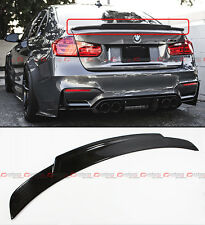 For 15-18 BMW F80 M3 Real Carbon Fiber High Kick Extended Big Trunk Spoiler Wing