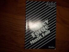 1983 - Valley Forge Music Fair Playbill - Review of Programs for Oct. & Nov.
