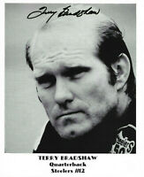 NFL TERRY BRADSHAW STEELERS HAND SIGNED AUTOGRAPHED 8X10 PHOTO WITH COA
