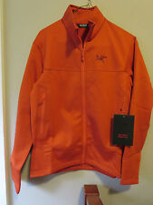 Mens New Arcteryx Arenite Jacket  Size Small Color Phoenix