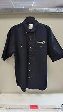 Kawasaki Casual Pit Shirt Black Large