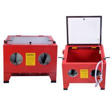 25 Gallon Small Table Top Air Sandblaster Cabinet Abrasive Sand Blasting Machine