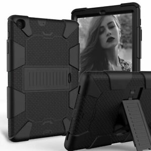 For Samsung Galaxy Tab A 8.0 2019 SM-T290 Shockproof Tablet Case Stand Cover BK