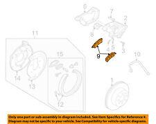 GM OEM Brake-Rear Pads 19122385
