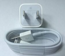 Genuine OEM Original Apple Iphone 8 7 6S 5S Wall Charger Usb Lighting Cable Cord