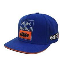 Red Bull KTM Plano Pico Gorra DE BÉISBOL. Gorra Gorra KTM Remaches CAPPELLINO