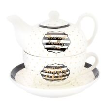 The Leonardo Collection Simply Chic Tea for One Set
