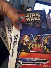 3 Games: LEGO Star Wars Complete Saga/Kung Zhu/Indiana Jones Original Adventurer