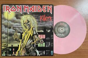 IRON MAIDEN - KILLERS LP  PINK OC 06207450