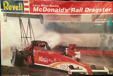 REVELL LARRY MINOR RACING 1/25 SCALE MCDONALD'S RAIL DRAGSTER MODEL-SKILL 2