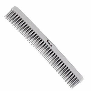 Denman D12 Professional 3-Row Tame and Tease Silver Comb