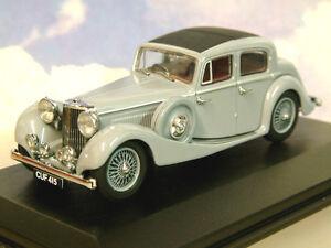 Superbo Oxford Diecast 1/43 Ss Jaguar 2.5 Litro Saloon IN Lavanda Grigio JSS004