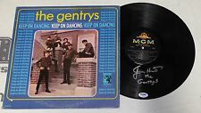 Jimmy Hart Signed The Gentrys Keep on Dancing Album Vinyl Record PSA/DNA WWF WWE