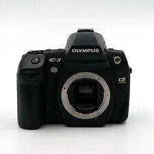 Olympus EVOLT E-3 10,1 MP Digitalkamera - Schwarz (Nur Gehäuse) - gebraucht