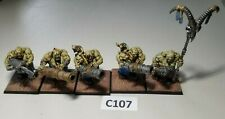 GW Warhammer AoS Ogre Kingdoms Gutbusters Leadbelcher Unit Painted