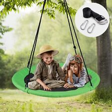 Wv Outdoor Tree Swing with Hanging Strap Kit 40inch Diameter Playground Backyard