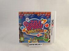 PUZZLE BOBBLE UNIVERSE NINTENDO 3DS 2DS DS 3D PAL EU EUR ITA ITALIANO COMPLETO