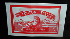 FORTUNE TELLER MIRACLE FISH  Pack of 12 Novelties for Party Bags & XMAS BON-BONS