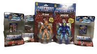 2020 Masters of the Universe Origins He-Man Skeletor And Mini Figures Battle Cat