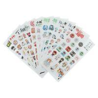 Multi Anime PVC Waterproof DIY Stickers My Hero Academia Stationery Hot/% OqRnV