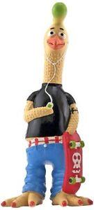 Ruffin' It Tony Mohawk Latex Chicken Pet Toy, Small