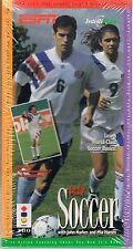Let's Play Soccer ESPN (3DO IntelliPlay 1994) New in Long Box Shrink wrap