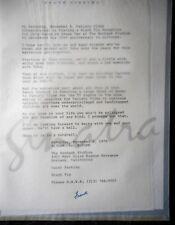 Frank Sinatra Letters (Julie Styne, Cary Grant) + John Wayne Invite FACSIMILIES
