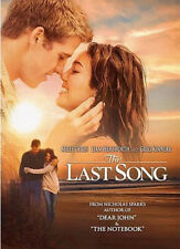 The Last Song (2010 Miley Cyrus) DVD NEW