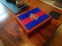 Welsh Guards Regiment Premium Military Medals and Memorabilia Box, Great Gift