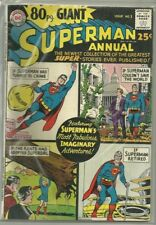 80-Page Giant #1 DC Superman Annual Silver Age (1964) Comic Book Fine-/Fine