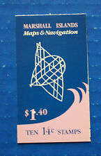 Marshall Islands (40a) 1985 Maps & Navigation booklet (MNH)