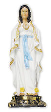 OUR LADY OF LOURDES 130mm STATUE - CANDLES CRUCIFIXES & PICTURES ALSO LISTED 937