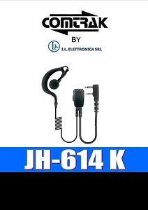 JH-614 K: Micr / Auricol A Pad.aperto For Kenwood/Wouxun/Baofeng 333007