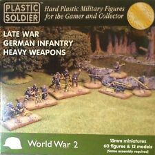 Soldatini in 15mm - LATE WAR GERMAN INFANTRY HEAVY WEAPONS - PLASTIC SOLDIERS