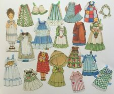 """Vintage """"The Ginghams"""" paper doll Carrie , c.1976"""