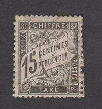 France - Timbre Taxe oblitéré Type Duval - N°16