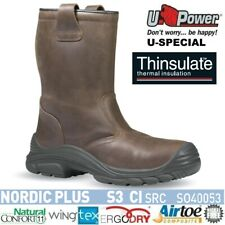 UPOWER SCARPE ANTINFORTUNISTICA STIVALI NORDIC PLUS S3 CI SRC  U-POWER SO40053
