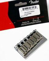 """NEW Bridge FENDER USA HARDTAIL  0032909049- chrome guitares """"through body"""""""
