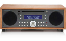 TIVOLI AUDIO MUSIC SYSTEM + BT RADIO AM/FM  CHERRY/GREY NUOVO GARANZIA ITALIA