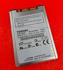 "Toshiba 160 GB,Internal,5400 RPM,1.8"" (MK1633GSG) Hard Drive HDD"