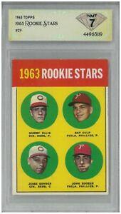 1963 Topps 1963 ROOKIE STARA #29 💎 DSG 7