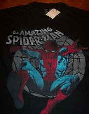 VINTAGE STYLE THE AMAZING SPIDER-MAN T-Shirt XL NEW w/ TAG  Marvel Comics