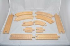 12-piece CLICKITY-CLACK TRACKS (grooved) / Vintage retired Thomas tracks