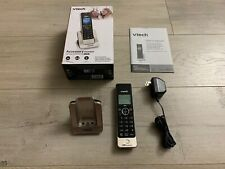Vtech LS6405 Cordless Telephone Accessory Addon Expansion Handset Silver & Black