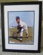 JERRY KOOSMAN NEW YORK METS Autographed framed  MOUNTED MEMORIES