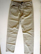 Hugo Boss Arkansas Jeans Hose Beige Uni W34 L36