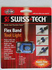 Quantity 2 (TWO) Swiss+Tech Flex Band Tool Light
